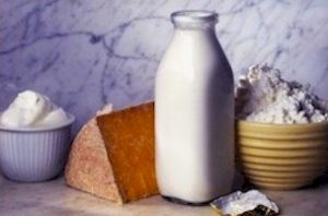 Harmful acid-forming foods - dairy products