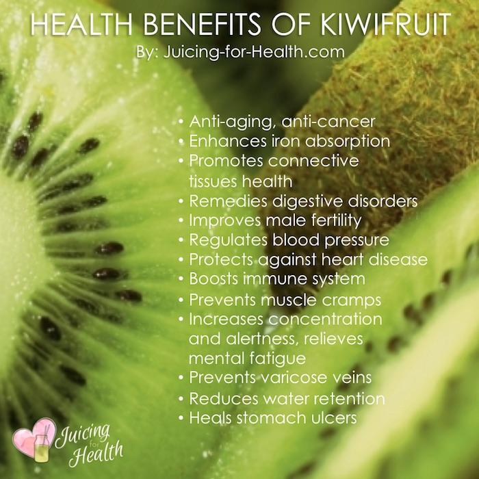 health benefits of kiwifruit