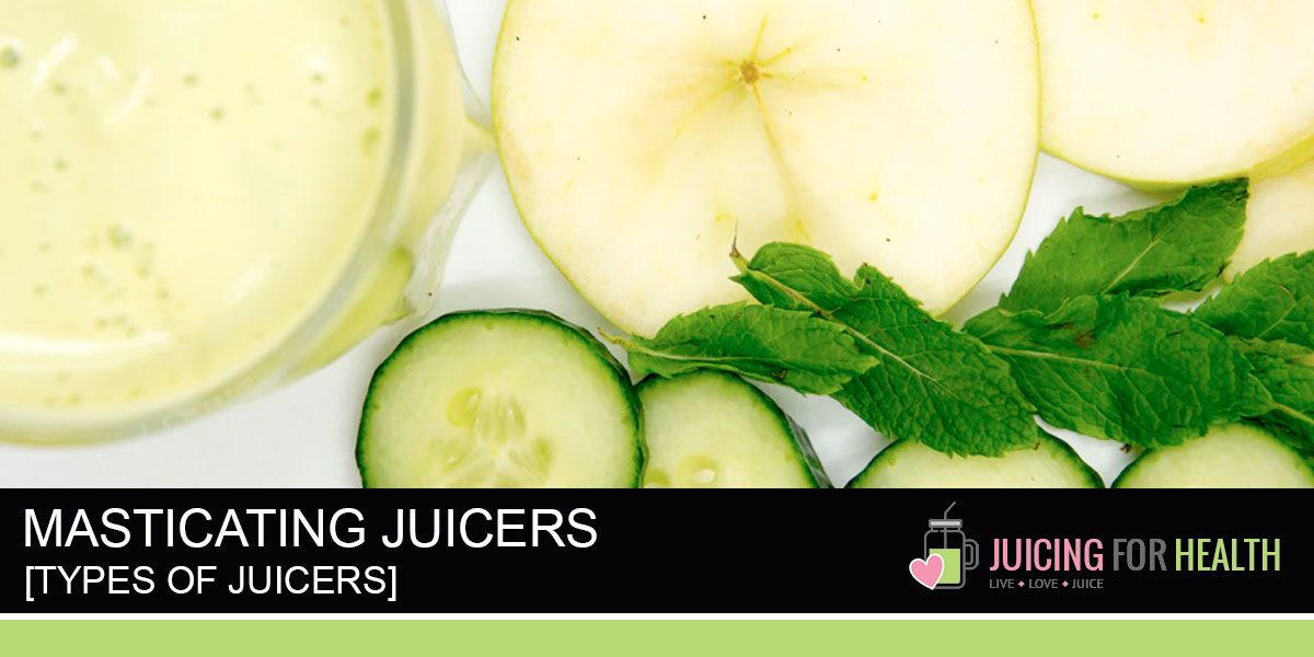 Guide: Masticating Juicers (AKA: Single Gear / Slow Juicers / Cold-Press Juicers)