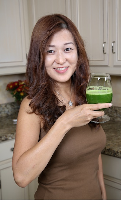 Sara Ding, founder, Juicing for Health