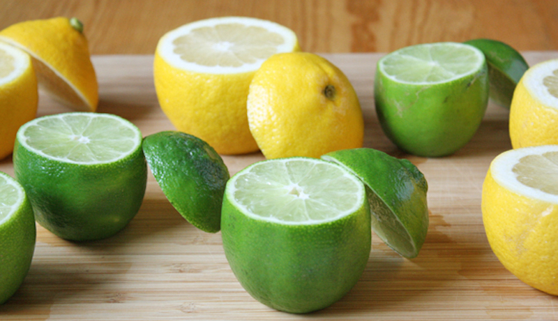 health benefits of lime and lemon
