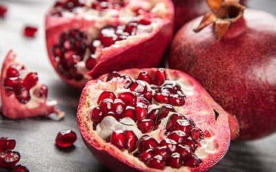 The Antioxidants Level In Pomegranates Is 3x Higher Than Red Wine, Green Tea And Berries