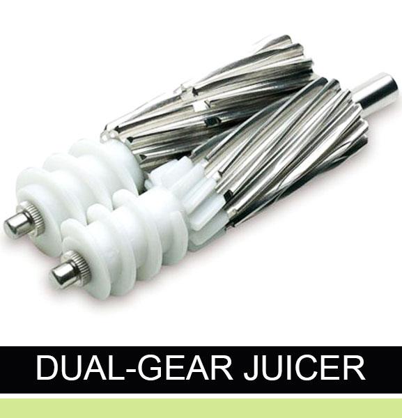 dual gear juicer