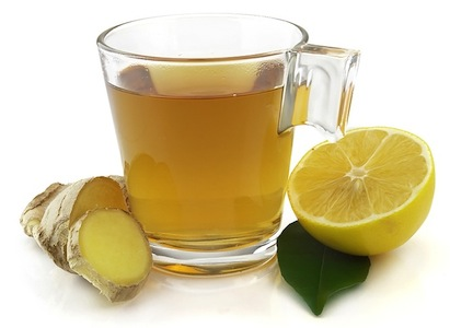 Detoxifying lemon tea