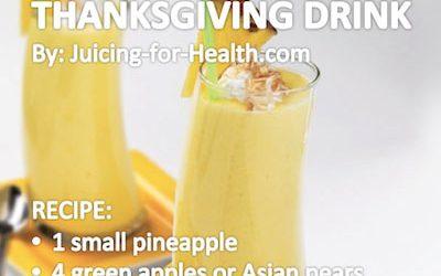Thanksgiving Drink
