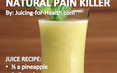 Drink This Anti-Inflammatory Juice to Relieve Pain Quickly