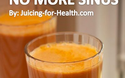 Eliminate Nasal Congestion And Sinusitis Fast With This Powerful Carrot Juice