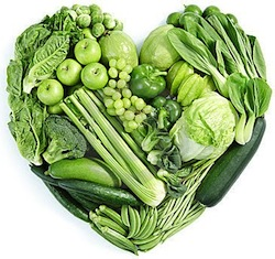 green color food groups