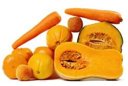 orange food color group