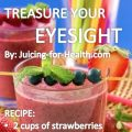 Prevent Eye Damage With This Powerful Antioxidant-Rich, Mixed Berry Juice