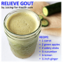 Reduce The Intensity Of Gout Attacks With This Simple Juice Recipe
