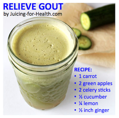 juice to reduce gout attacks