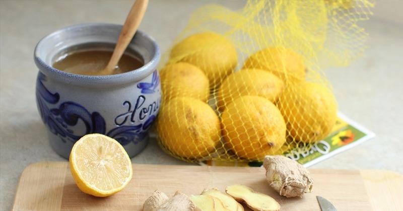 lemon honey ginger
