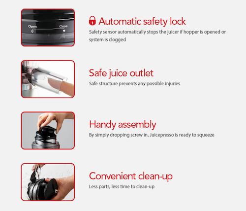 JuicePresso CJP-03 features