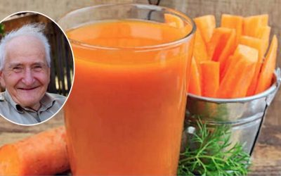 This 82-Year Old Man Cured His Heart Problem And Kidneys With Carrot Juice