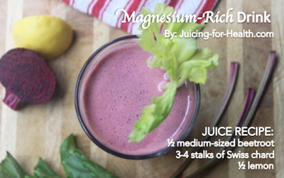 Fight Migraines, Weak Muscles And Other Symptoms Of A Magnesium Deficiency With This Powerful Juice
