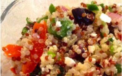 Greek Style Quinoa Salad
