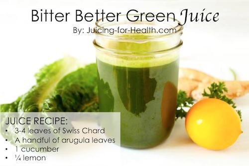 bitter juice to detoxify liver