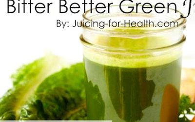 Regulate Blood Sugar Levels, Detoxify Your Liver, and 6 Other Things Bitter Green Juice Can Do For Your Body