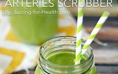 Lower Blood Pressure and Scrub Away Clogged Arteries with This Simple Juice