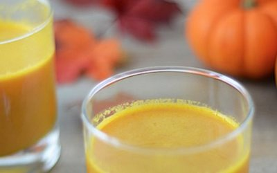 Alkalizing Carrot-Pumpkin Juice With A Secret Ingredient For Brilliant Eye Health