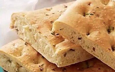 A Healthier Option: Gluten-Free Focaccia Flax Bread