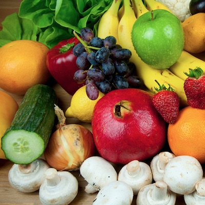 Natural Foods With Hydraulic Acid
