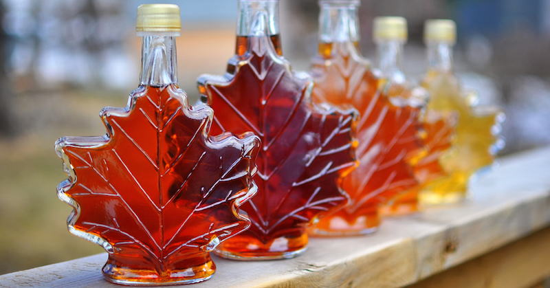 Safer sugar substitutes - Maple Syrup