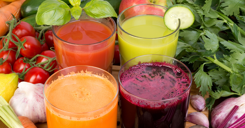 target juicing for speedy healing