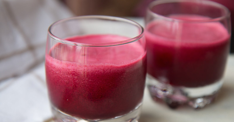 2 beetroot juice