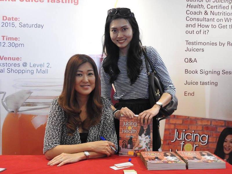 Sara Ding and Sara Khong