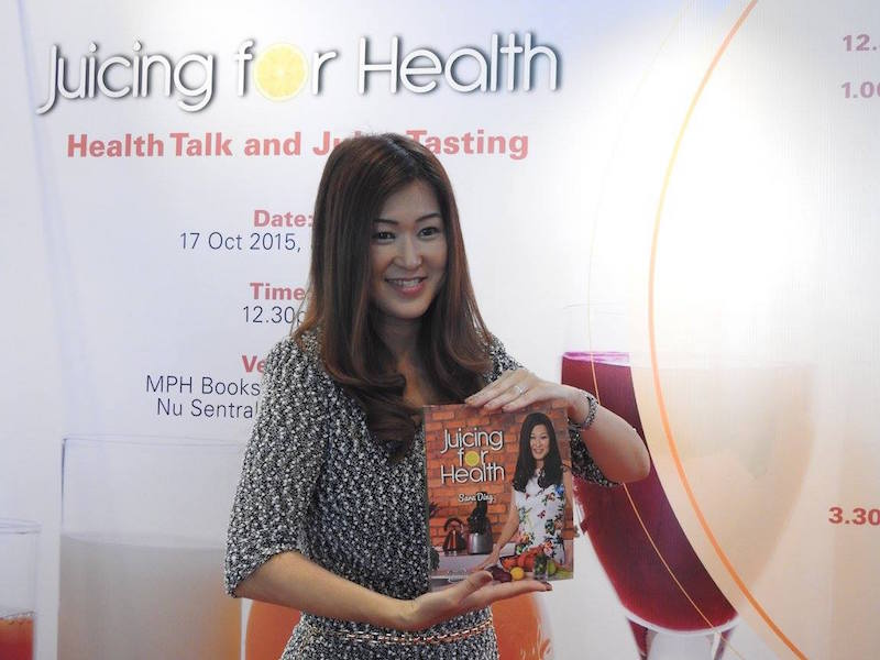 Juicing for Health Book - launch