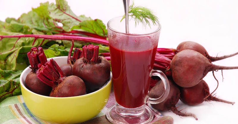 beetroot juice improves blood pressure
