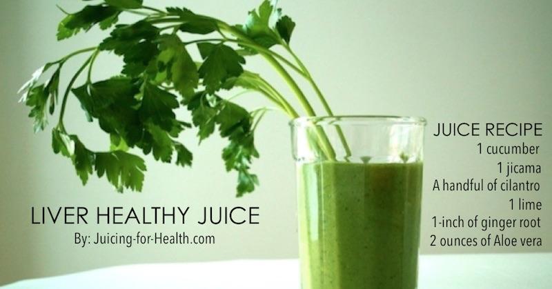 liver healthy juice