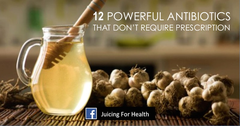 12 natural antibiotics to treat infections