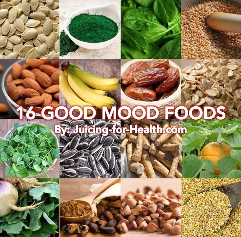 16 good mood foods