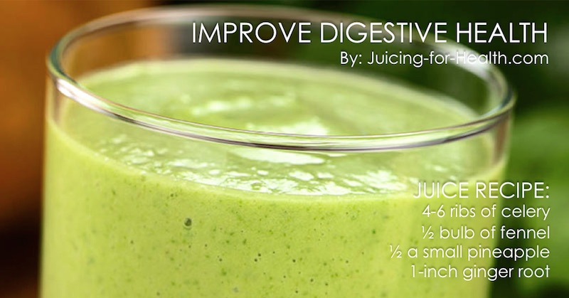 juice to heal digestive disorders