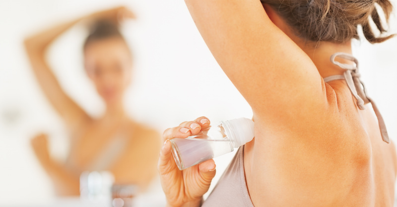 anti-perspirants and deodorants cause cancer