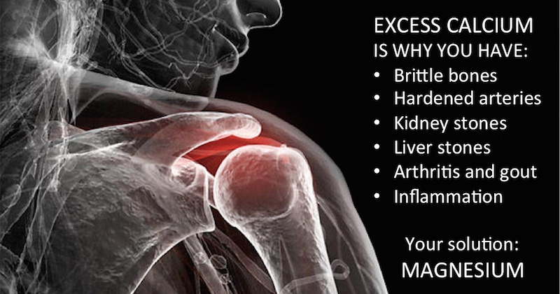 Excess Calcium Causes Inflammation The Shocking Truth