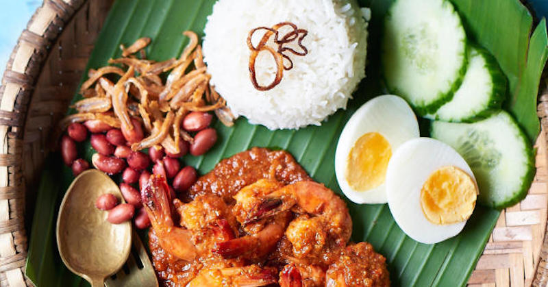 is nasi lemak a healthy and balanced meal