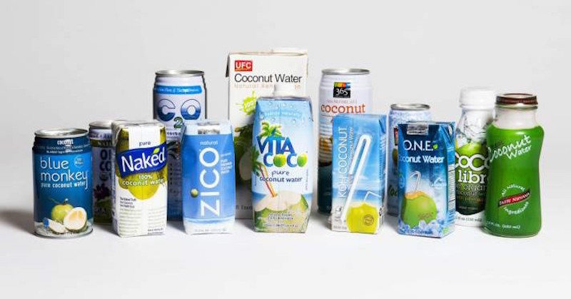 Natural Coconut Water From Concentrate