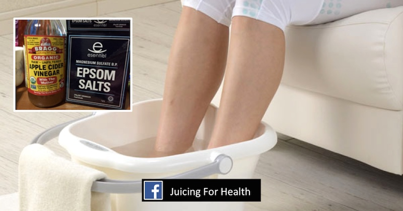 Soak Your Feet In This Natural Bath And Eliminate All Toxins From