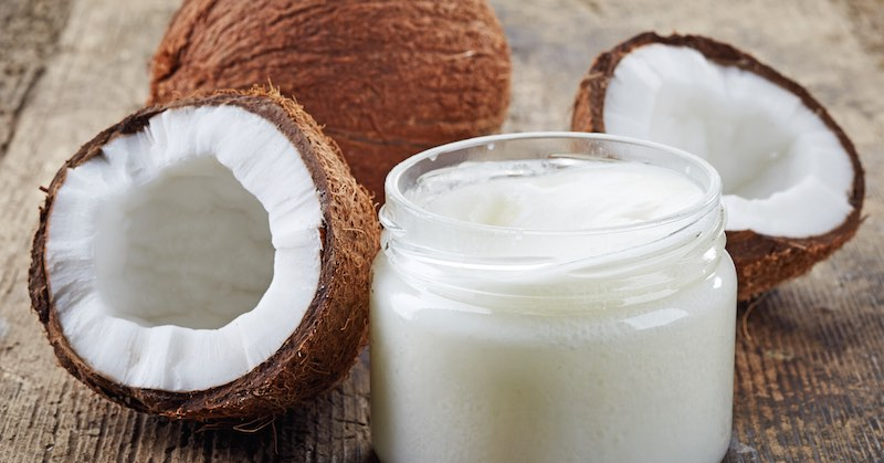 make coconut oil beauty products