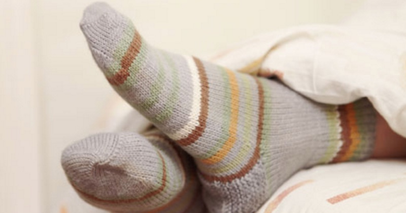 Sleep sock trick