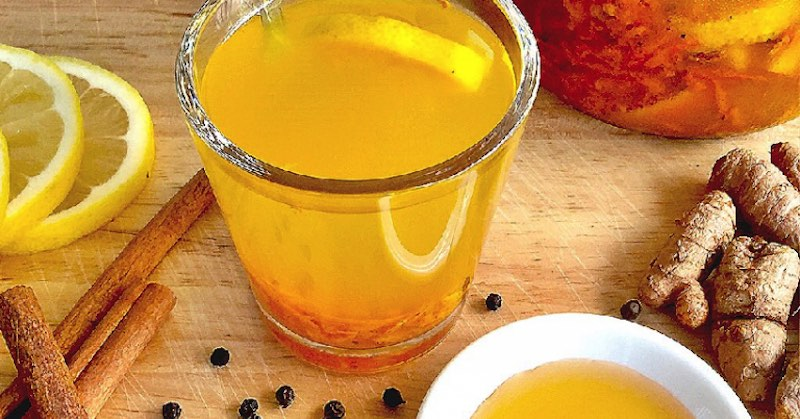 turmeric-ginger drink