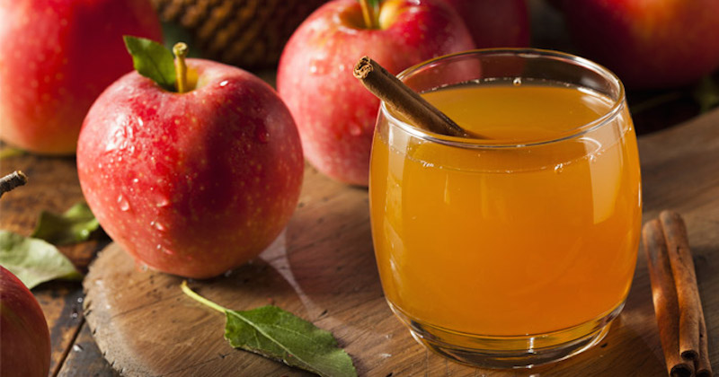 Sinus infection relief using apple cider vinegar