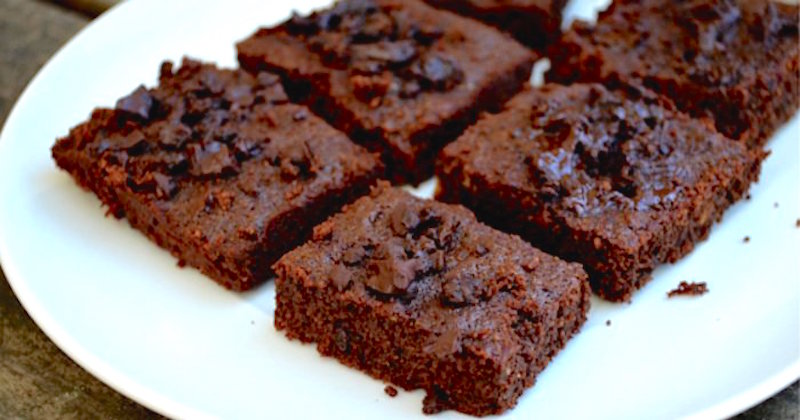 gluten-free coconut fudge brownies