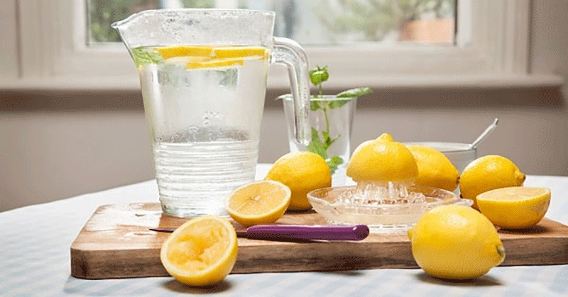 Drink daily lemon juice for health