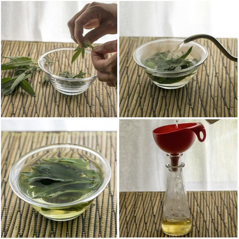 Reverse Grey Hair Naturally With Sage And Acv Rinse