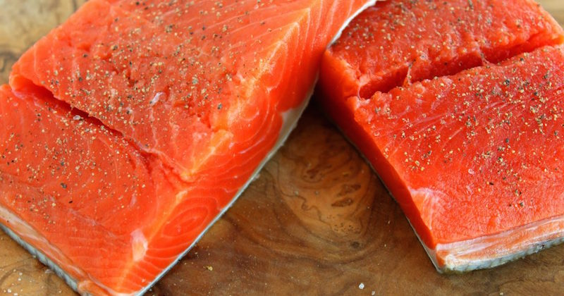 Farmed salmon genetically modified
